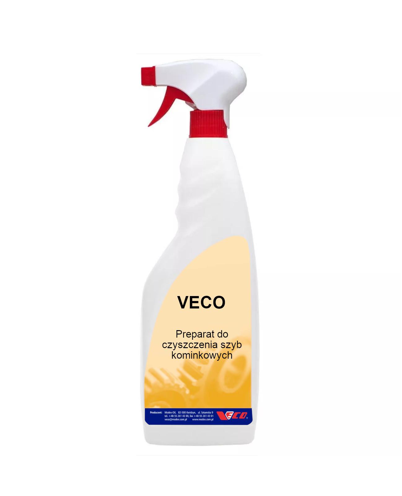 Preparat do czyszczenia szyb kominkowych